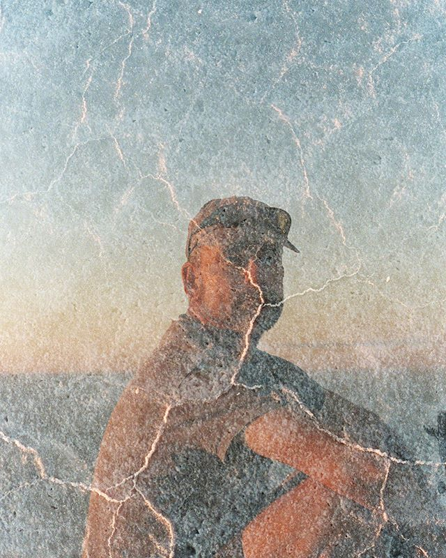 A LIFE ON THE SALT  Murray Fredericks.  2018 marked Murrays 23rd journey to the salt lake since 2003. These images were shot over a 12 day period on that same trip.  For more from this series visit nickbannehr.com  #portra400 #contaxg2