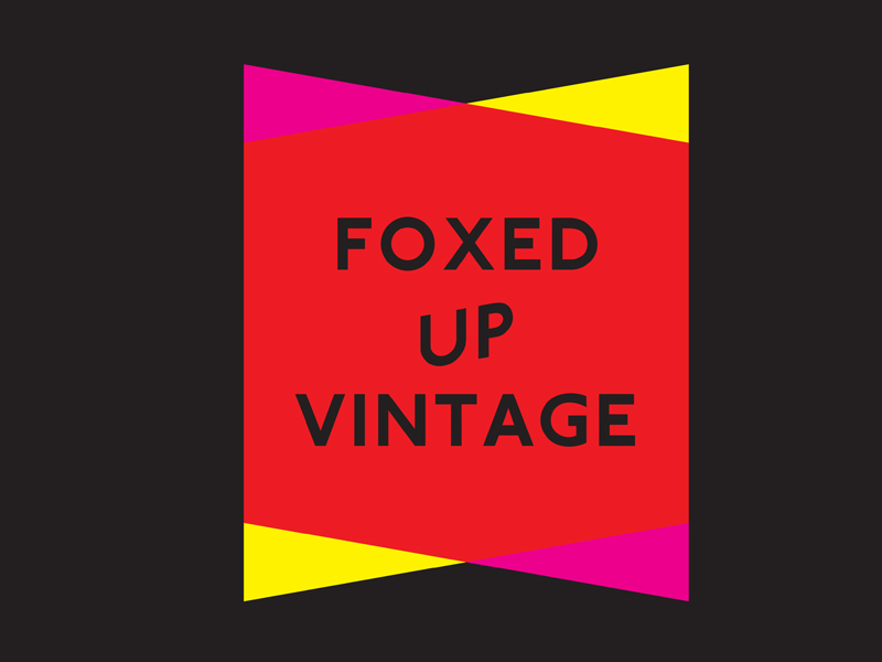Foxed Up Vintage, Brighton.