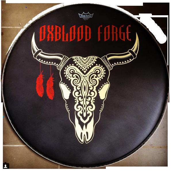 Custom Kick Drumhead