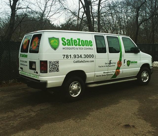 Safe Zone Truck Lettering