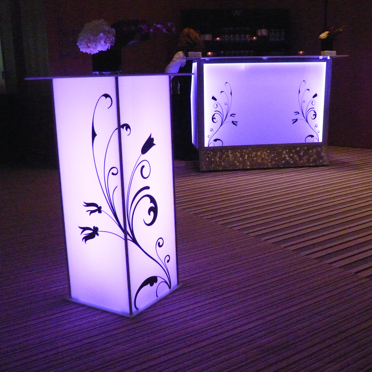 Light Up Bar & Decals