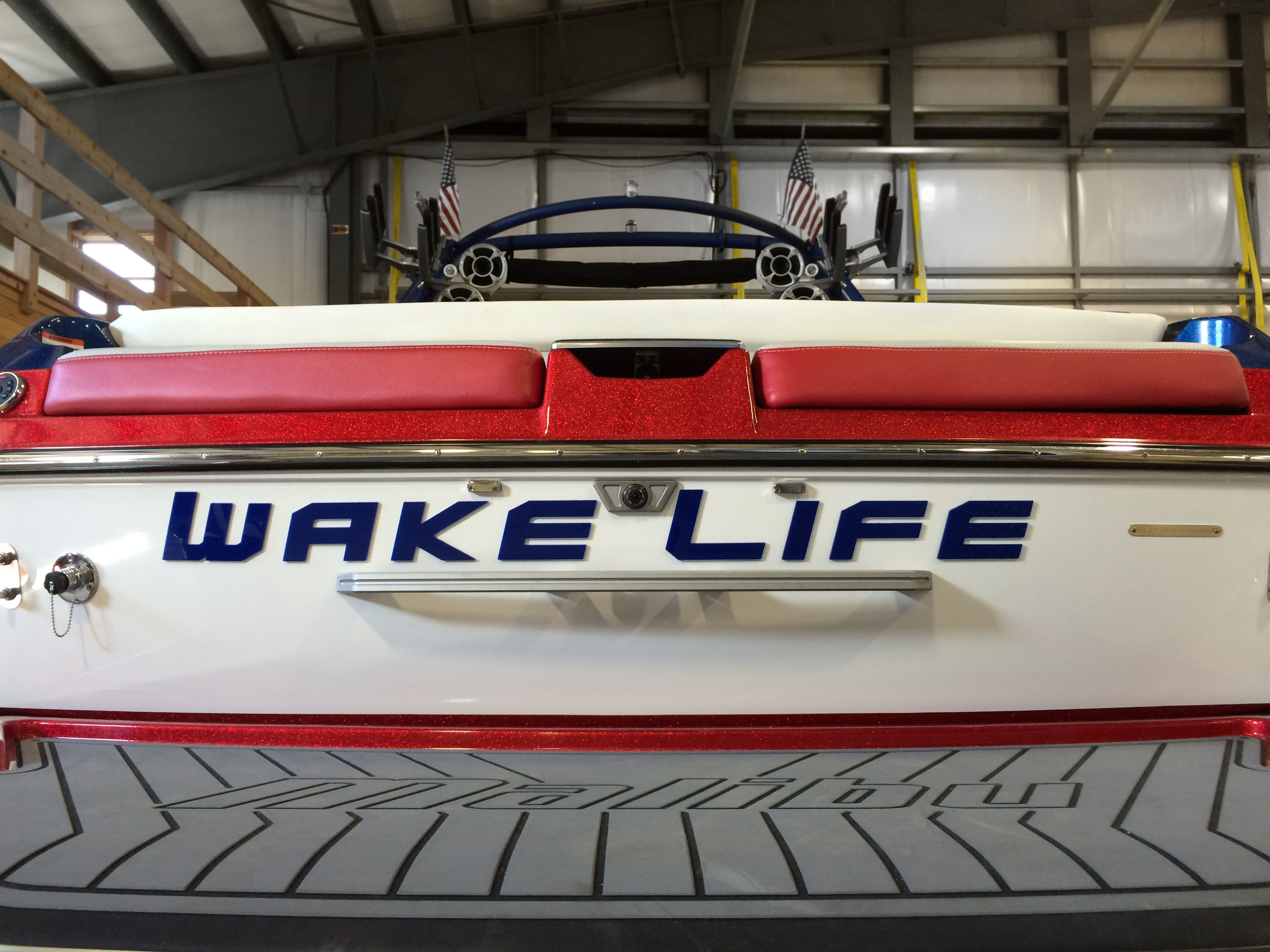 Acrylic Boat Lettering
