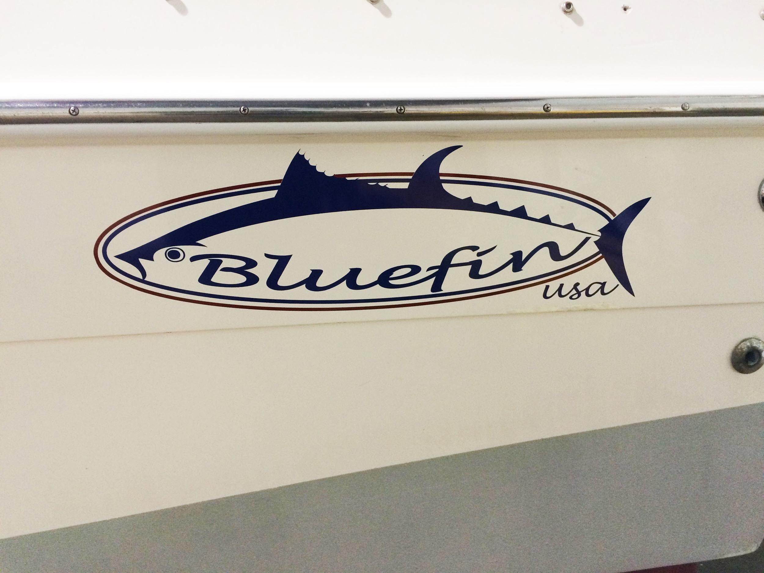 Vinyl Boat lettering