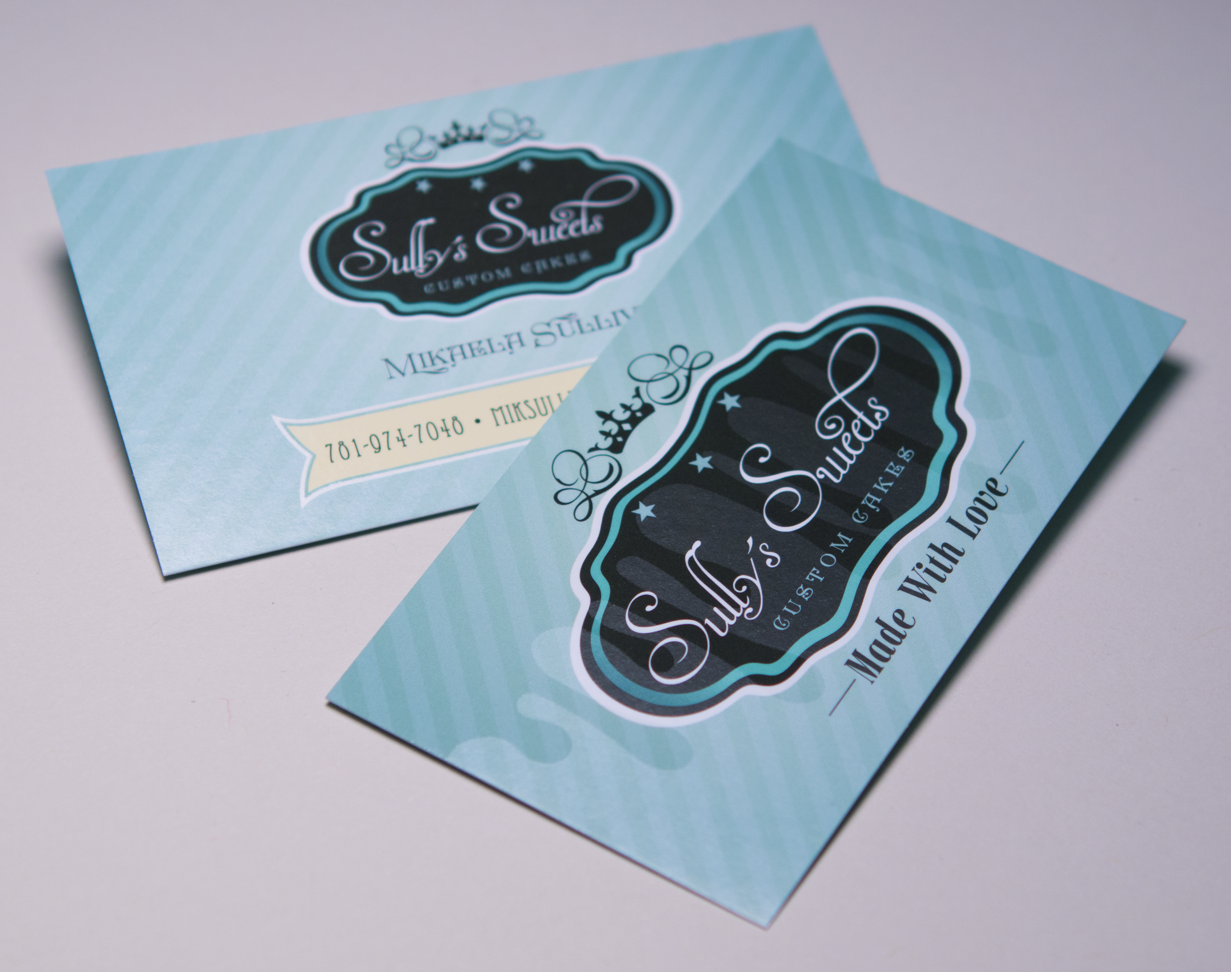 Spot Gloss Business Card Design