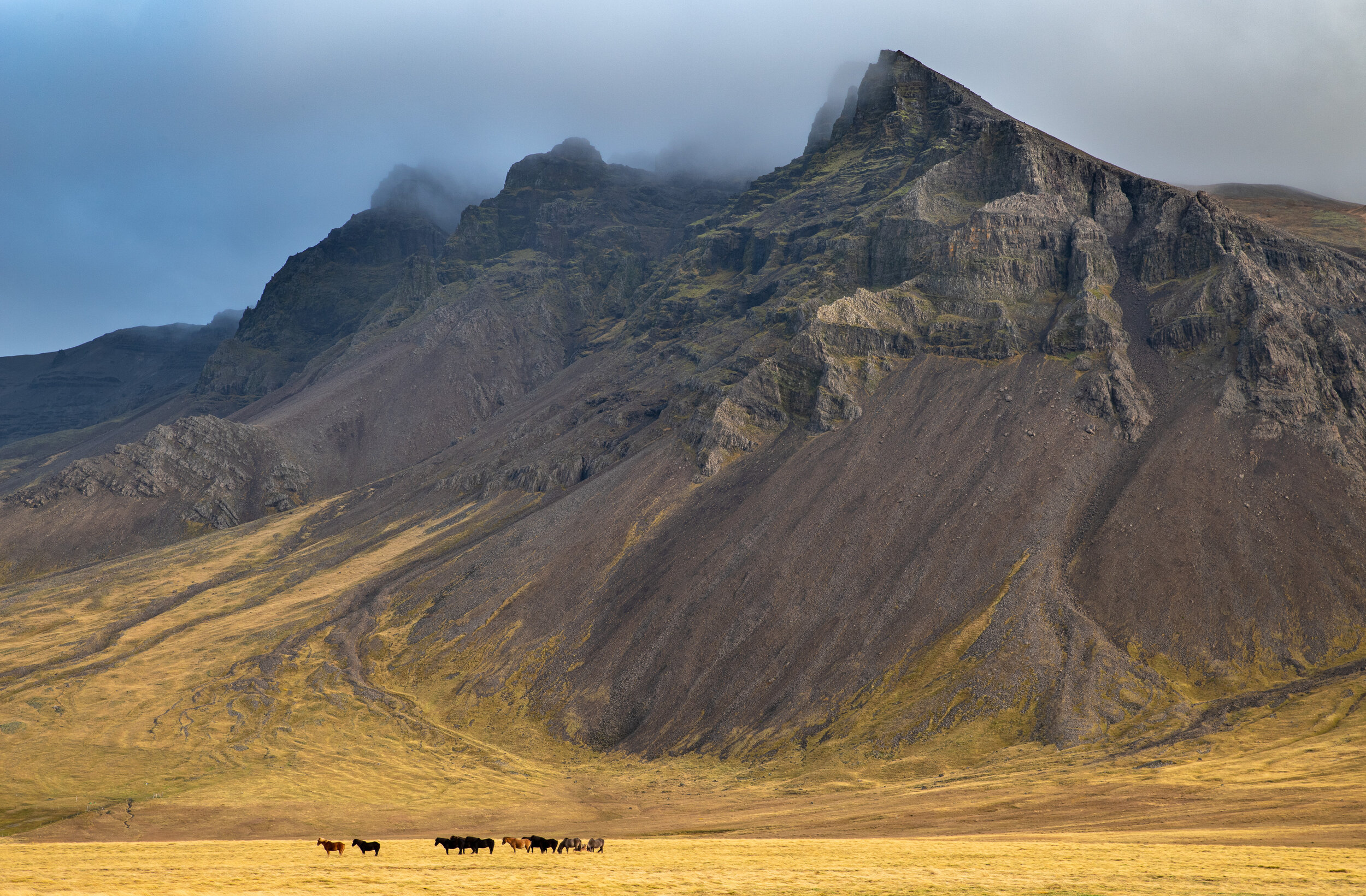 Iceland Mountainscape