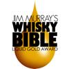 Gold Liquid Gold Award - 2016 Jim Murray's Whisky Bible  Batch 2