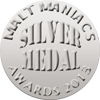 Silver Daily Dram - 2014 Malt Maniacs Awards  Batch 1
