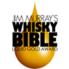 Gold Liquid Gold Award - 2015 Jim Murray's Whisky Bible  Batch 1