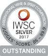 Silver Outstanding International Wine & Spirits Competition 2017  Batch 1