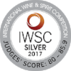 Silver International Wine & Spirits Competition 2017  Batch 11