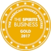Gold American Whiskey Masters 2017 (The Sprisits Business)  Batch 1