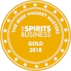 Gold Irish Whiskey Masters 2018 (The Spirits Business)  Batch 2