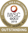 Gold Outstanding  International Wine & Spirits Competition 2018  Batch 1