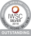 Silver Outstanding International Wine & Spirits Competition 2018  Batch 2