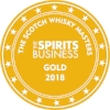 Gold Scotch Whisky Masters 2018 (The Spirits Business)  Batch 1