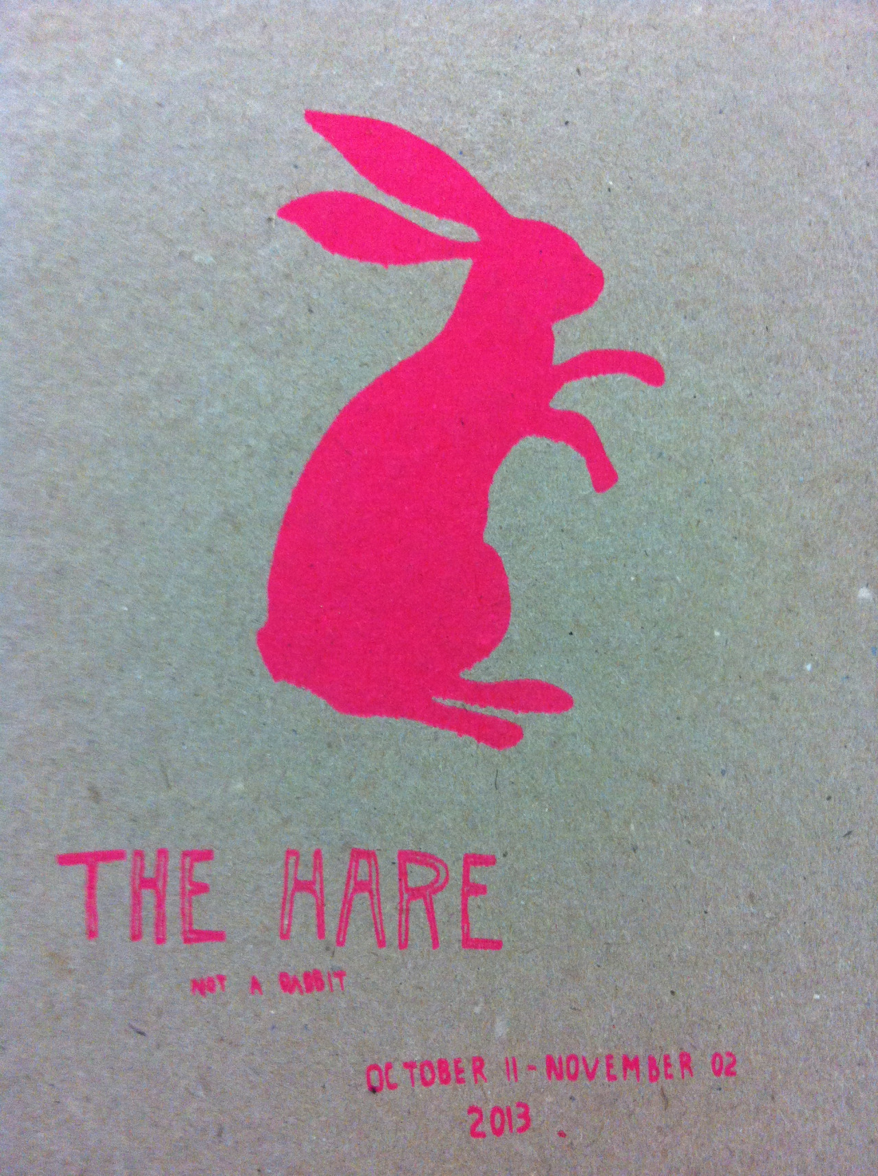The Hare, not a rabbit. I happened  upon this little pop up in Temple Bar today. Its a project by artist Fiona Hallinan and chef Katie Saunderson and it takes the form of a temporary kitchen in the gallery of Temple Bar Gallery and Studios. Its open Tuesday to Saturday 11:00 to 15:00 and is serving daily vegetarian specials and a lovely selection of drinks.