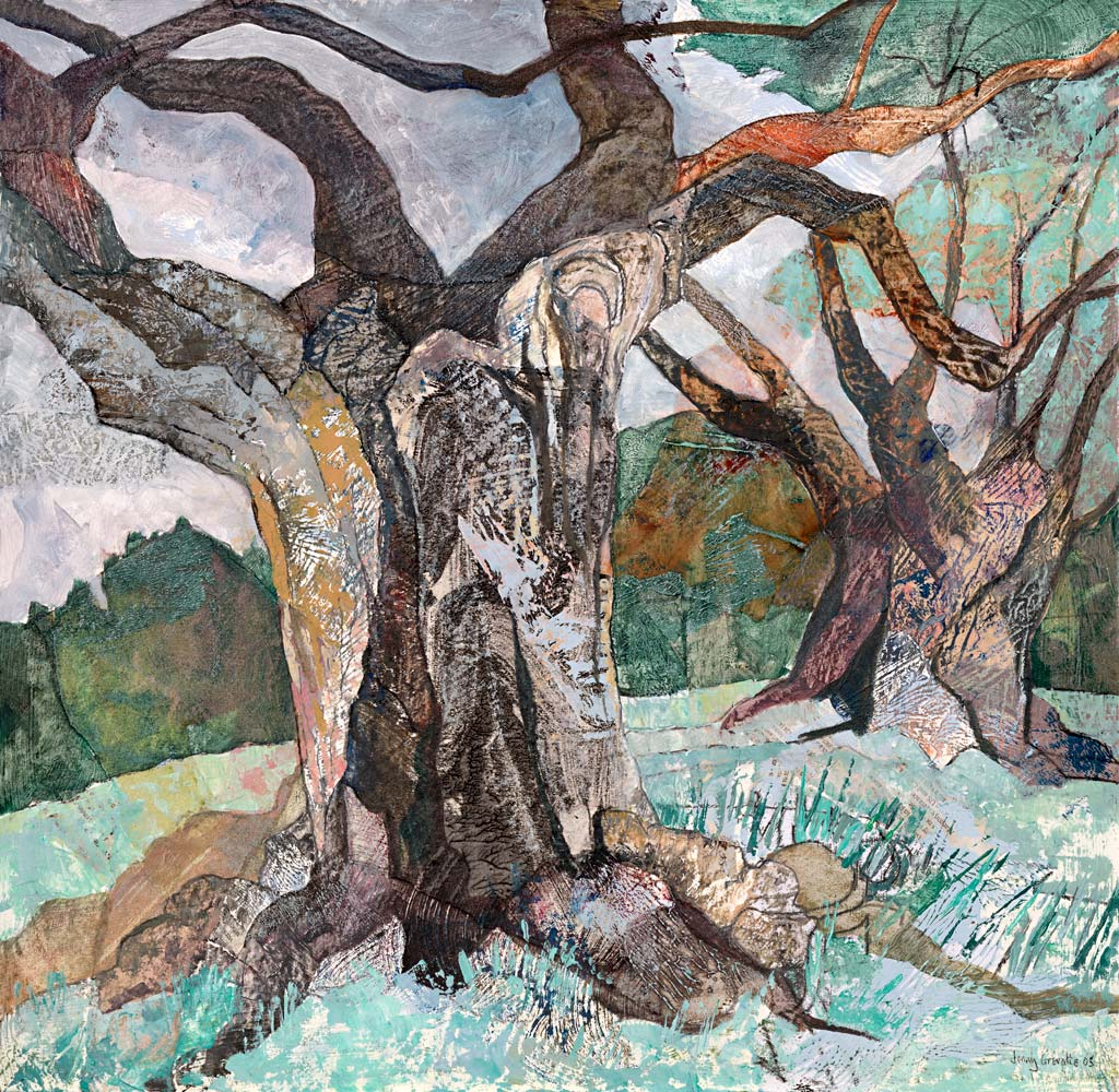 Blasted oaks, Bradgate Park