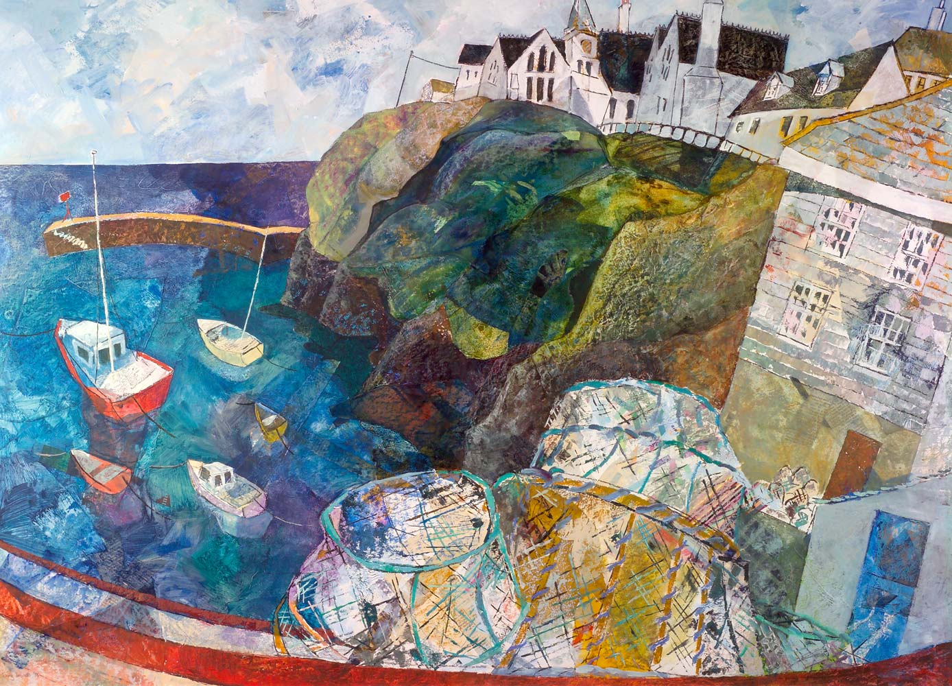 Autumn morning, Port Isaac