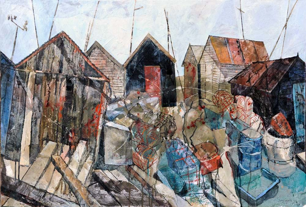 Fishermen's huts Southwold