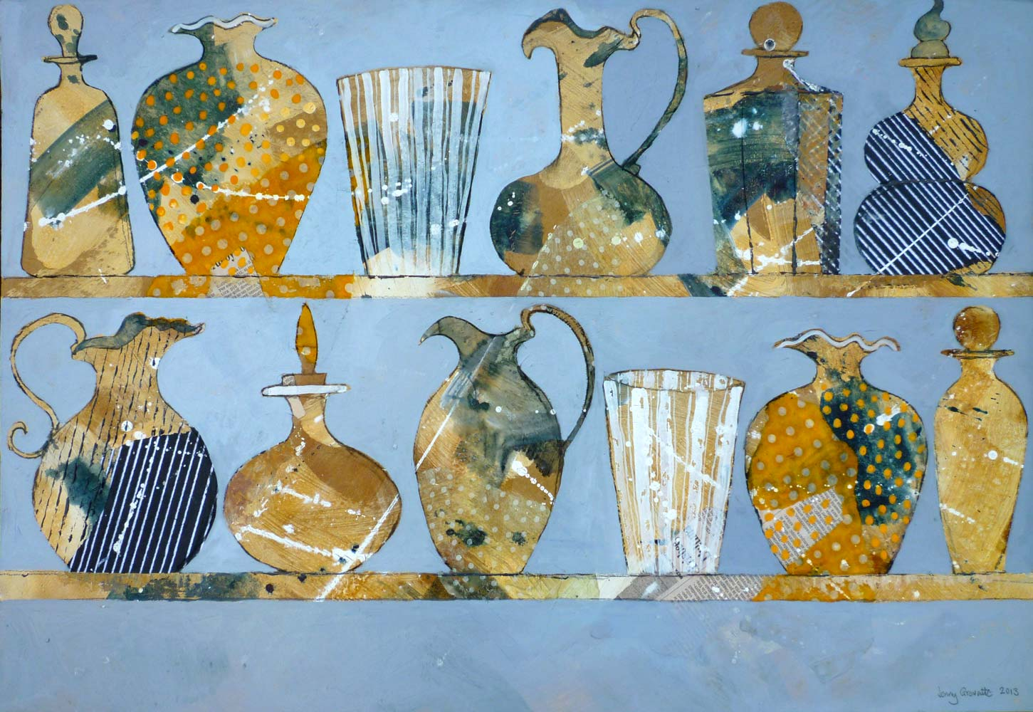 Glass vessels from Venice