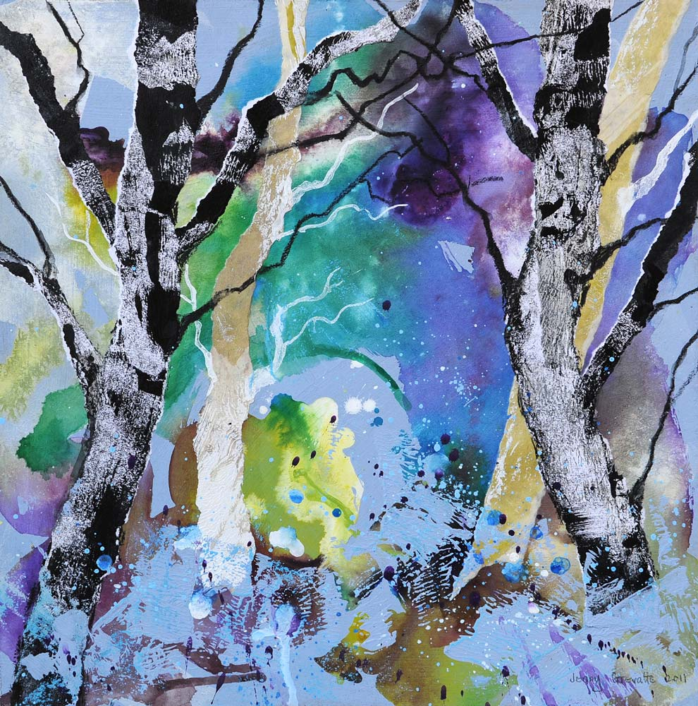 Bluebell wood glimpse