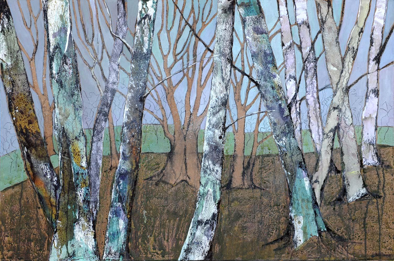 Magnificent birches