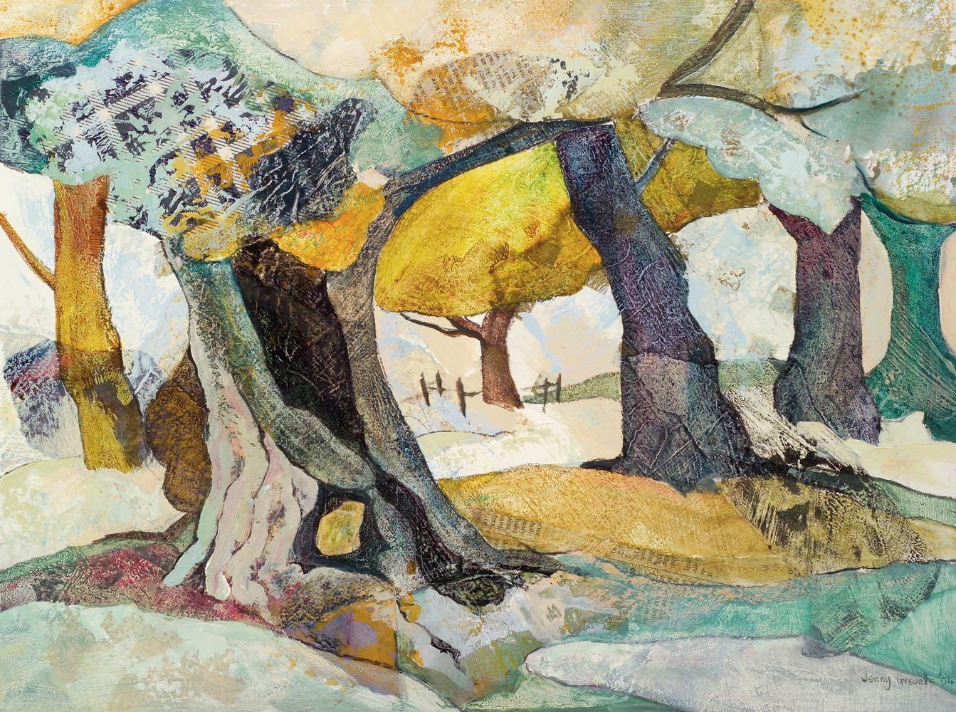 Ancient oak, late summer
