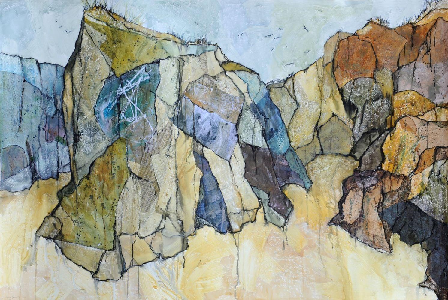 Rock outcrop, Gwithian 2