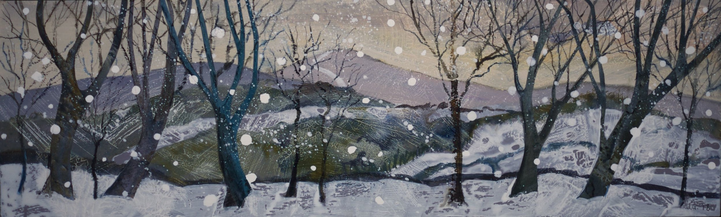Study for Winter colours, Charnwood