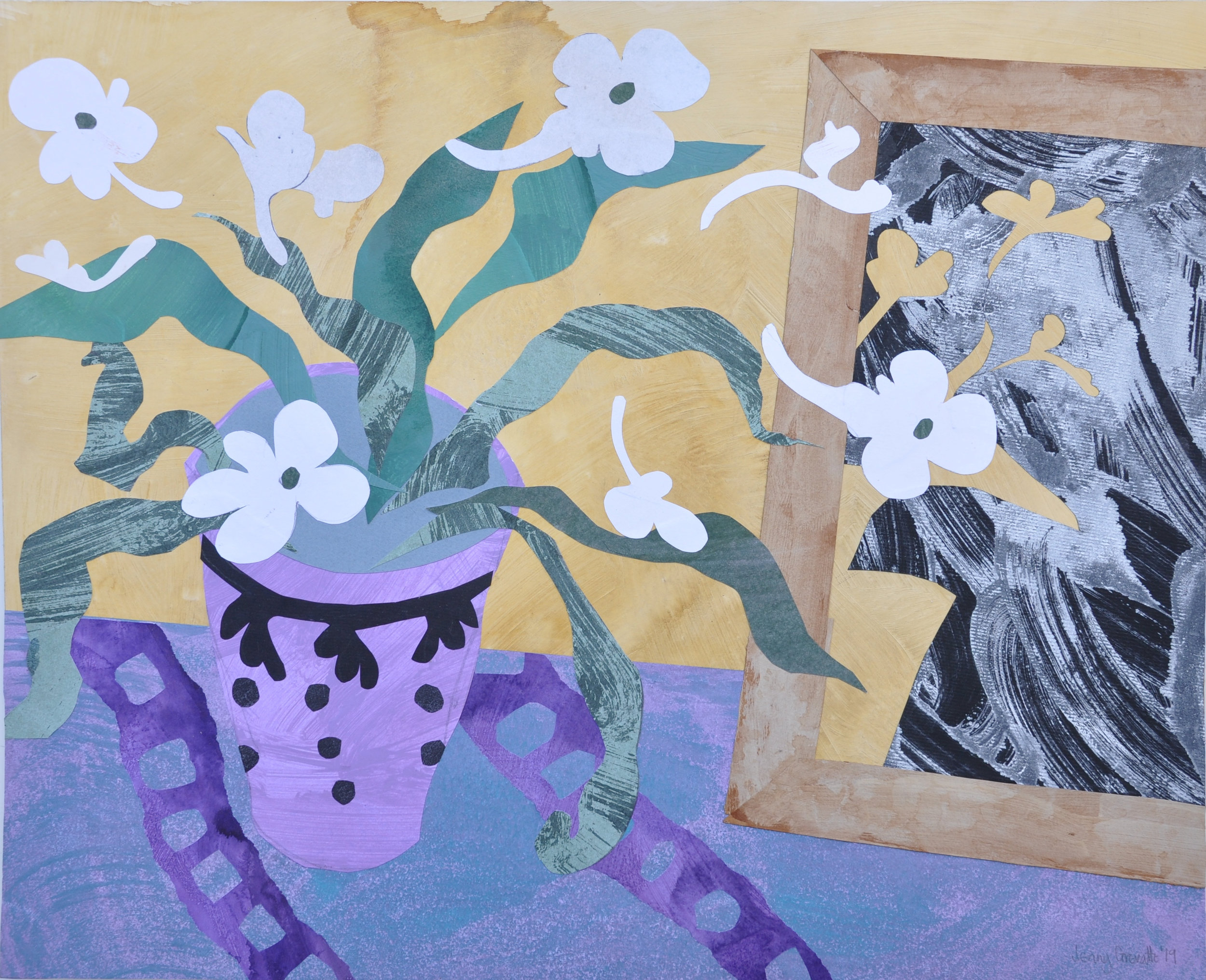 Cape primrose and mirror