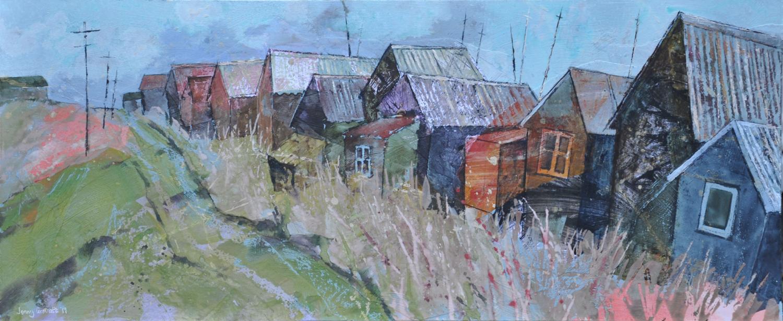 Huts at Blackshore, Southwold