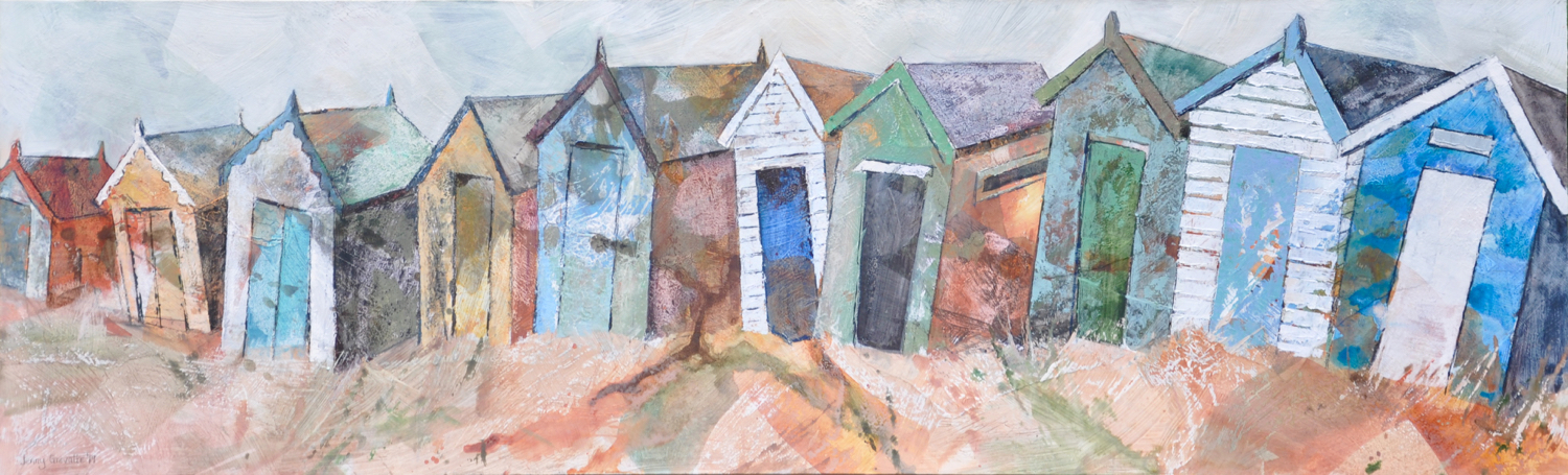 Row of beach huts, Southwold
