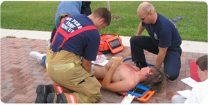 A full scale exercise in Green Bay, Wisconsin at the Resch Center