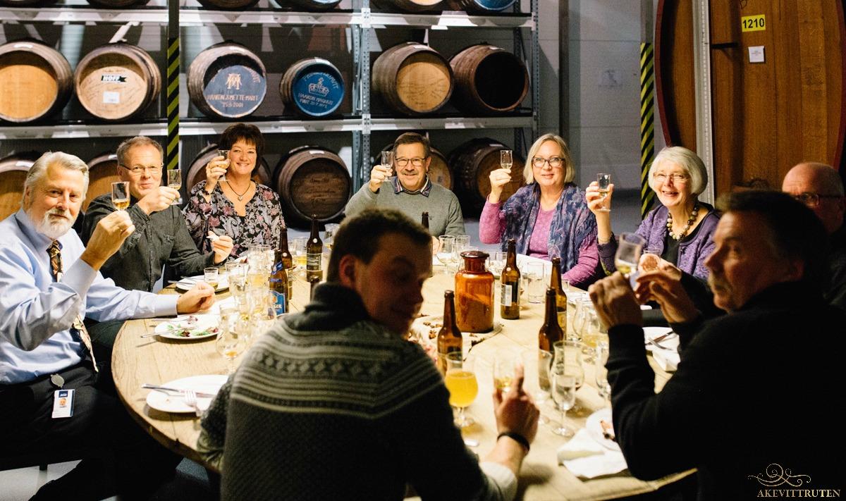 Glimt fra Destillatørens Aften på Arcus november 2015