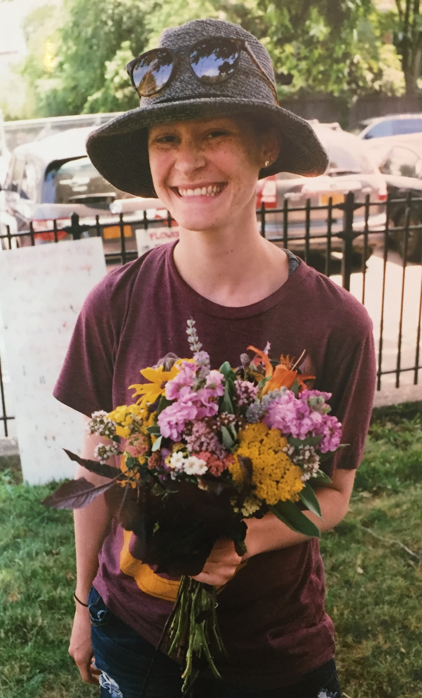 Photo Credit: Shannon Lai  Flower CSA at The Youth Farm in Brooklyn, NY
