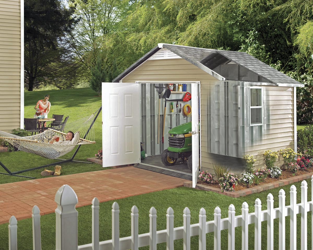 BARRETTE HOMESTYLES SHED