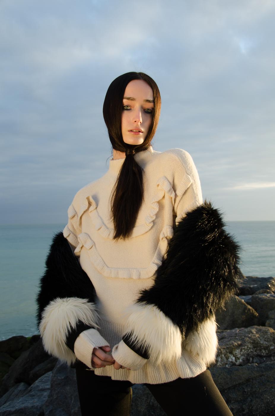 Jumper – Vera Moda, Coat – Stylist own,Trousers – Weruzo.