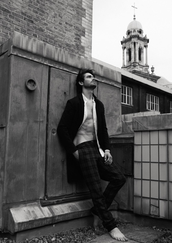 Coat  Lanvin, Shirt  Zara, Trousers  Henry Cottons
