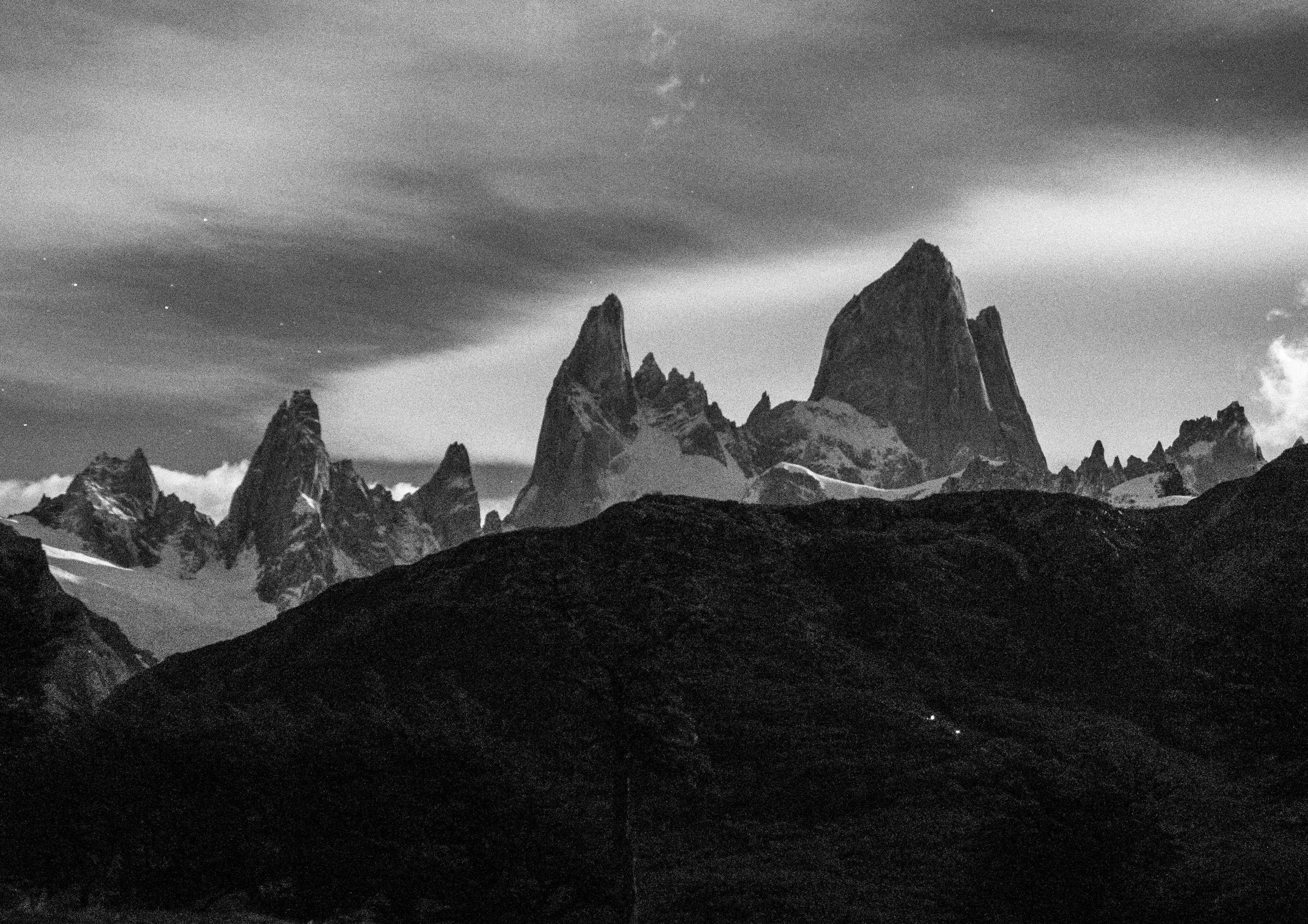The view of the Fitz Roy from our tent.