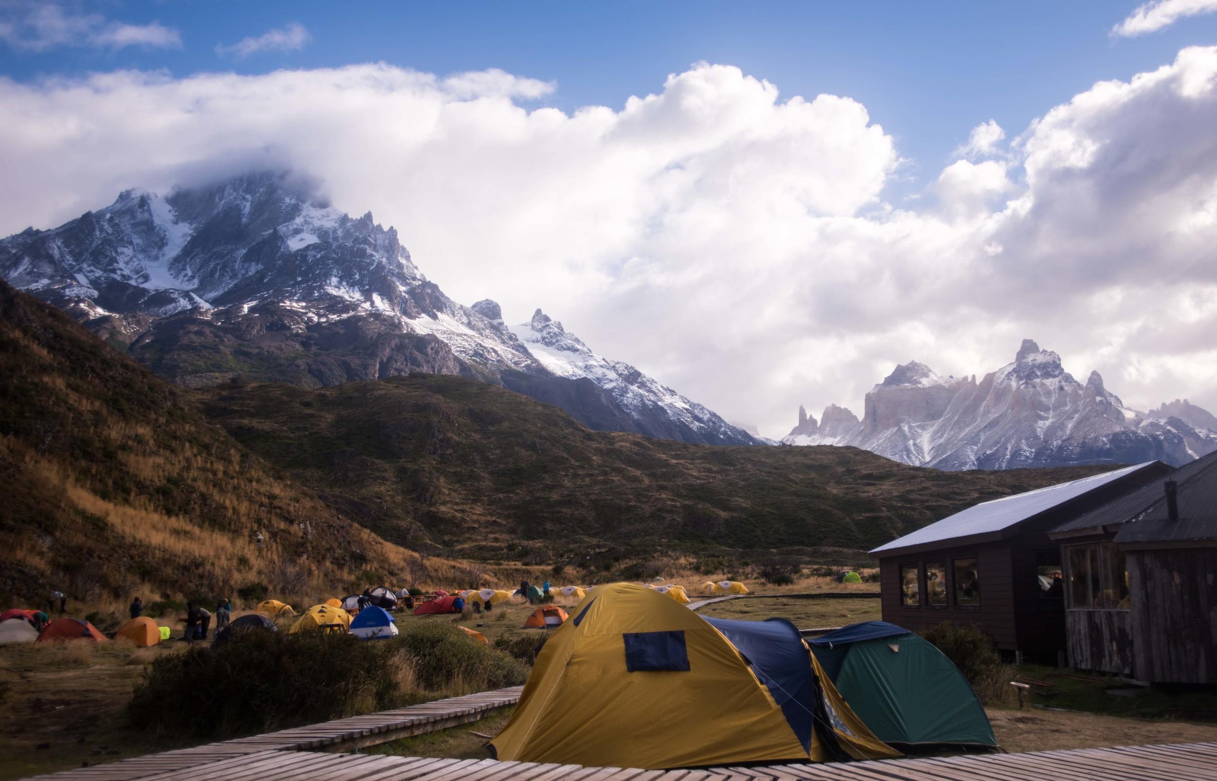 Paine Grande Camp