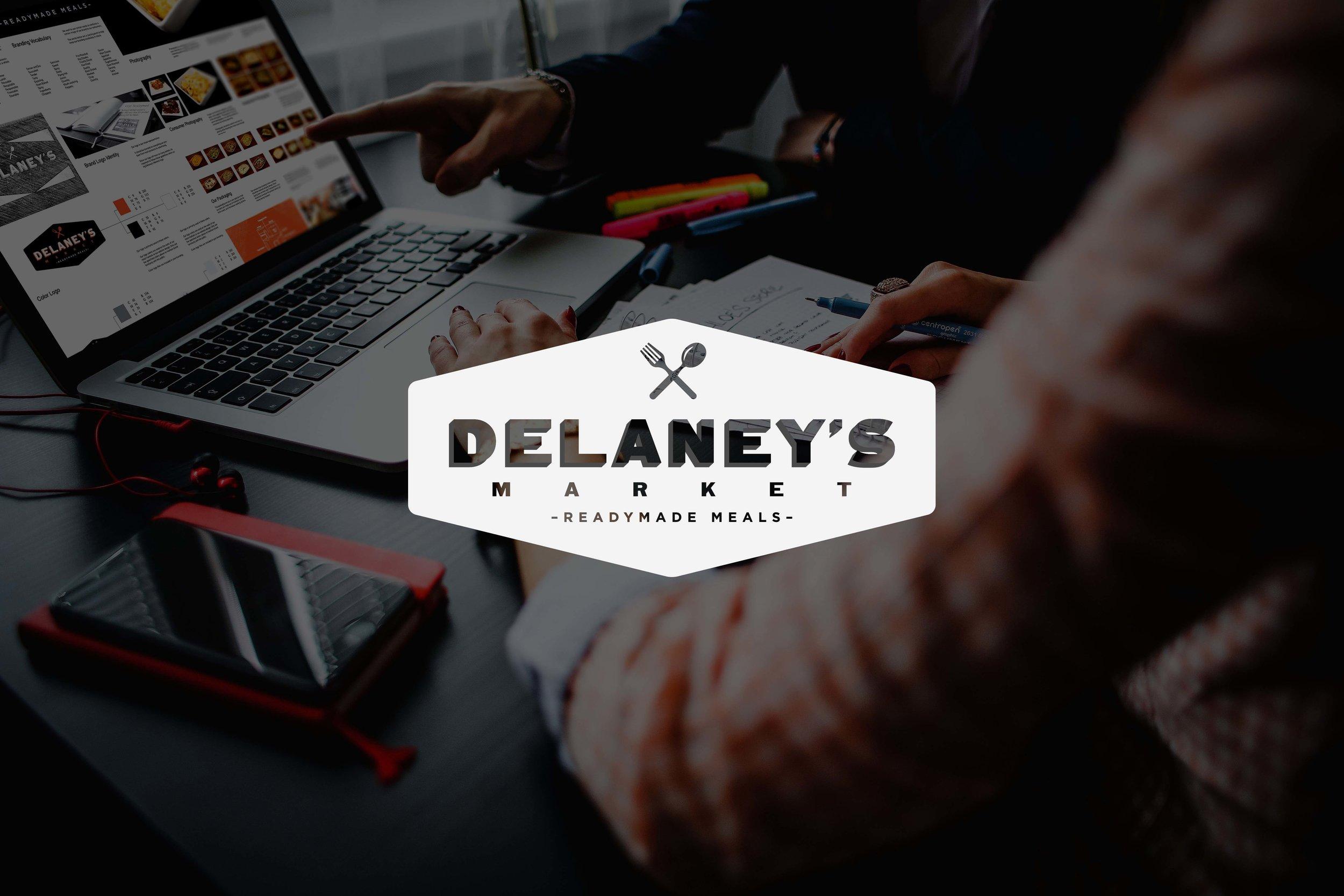 Delaney's Market: Food&Bev Retailer / MA - USA Retail Branding /Photo & Video Production / Design