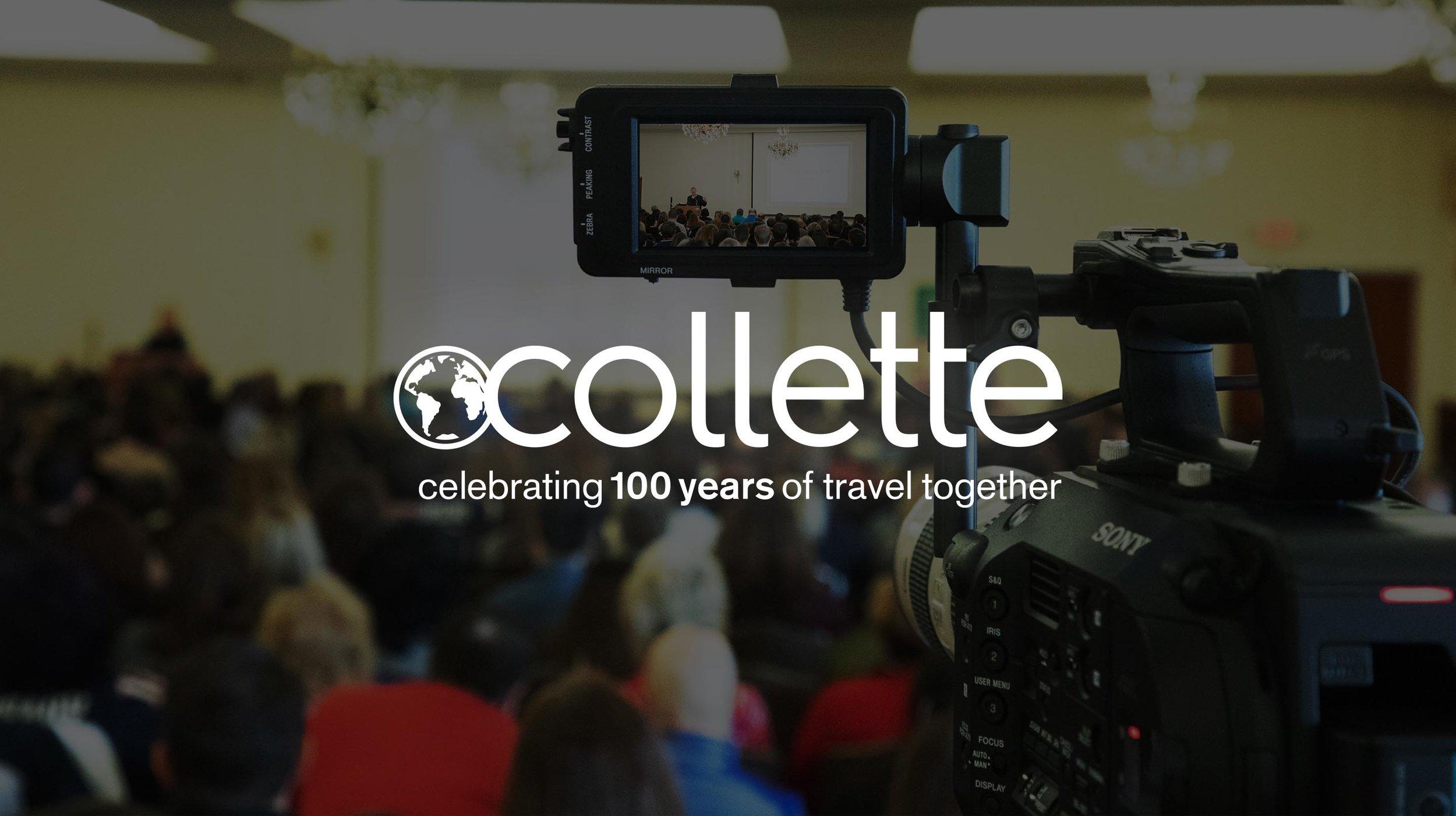 Collette Tours: Tour Agency / RI - USA  Corporate Branding / Photo & Video Production / Design