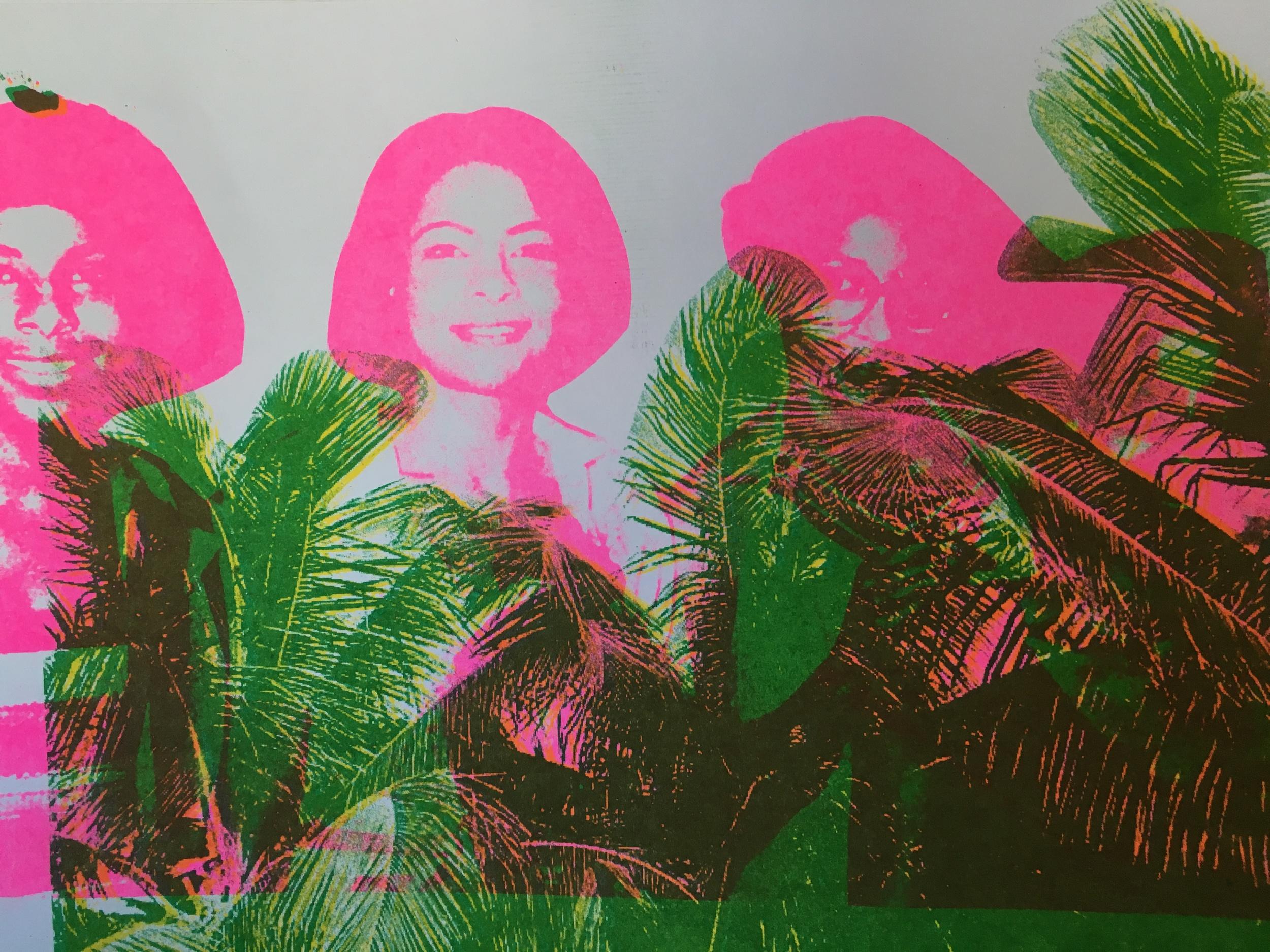 PALM TREES (FAMILY PORTRAIT)