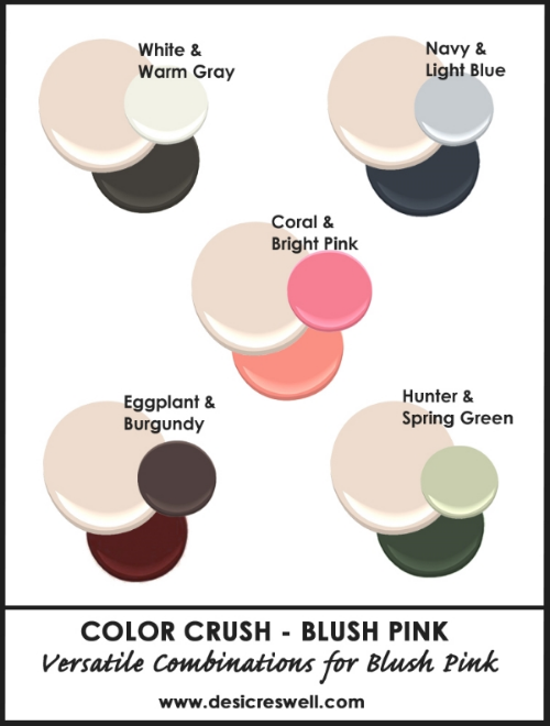 Benjamin Moore Blush Pink Tissue Pink Color Combinations Pantone