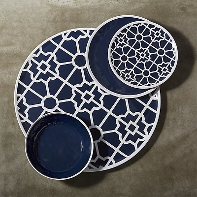 Crate and Barrel Regatta Melamine Dinnerwear