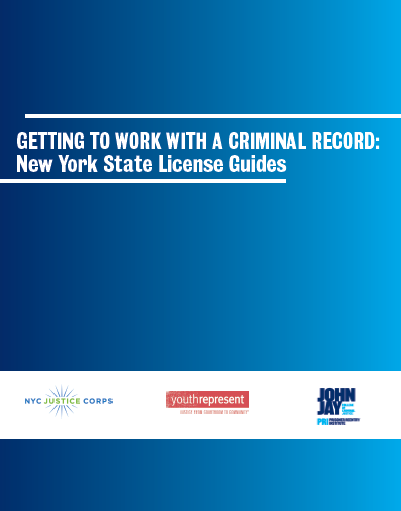 Getting to Work with a Criminal Record