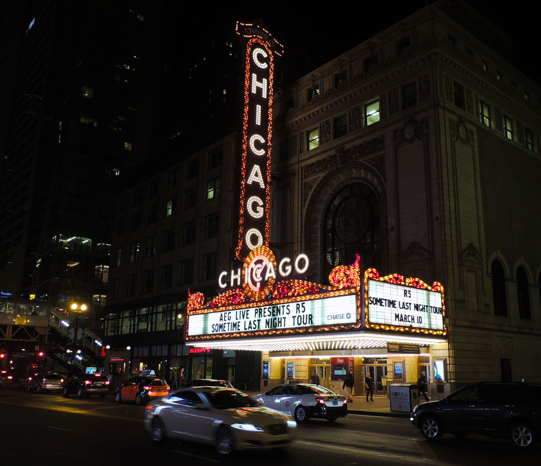 Chicago Theater; April 2016