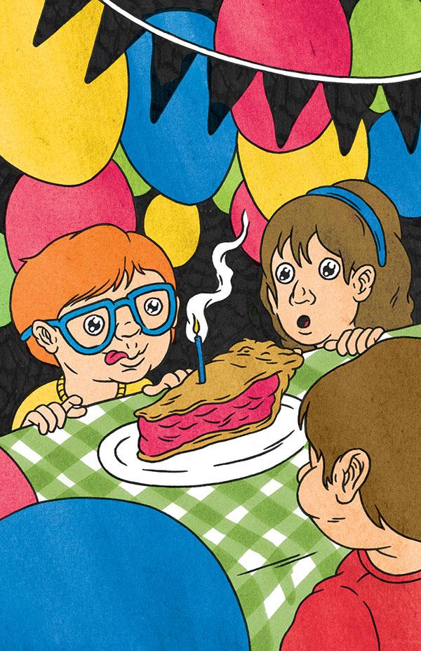 Issue #9, Birthday Surprise by  Chris Carfolite .
