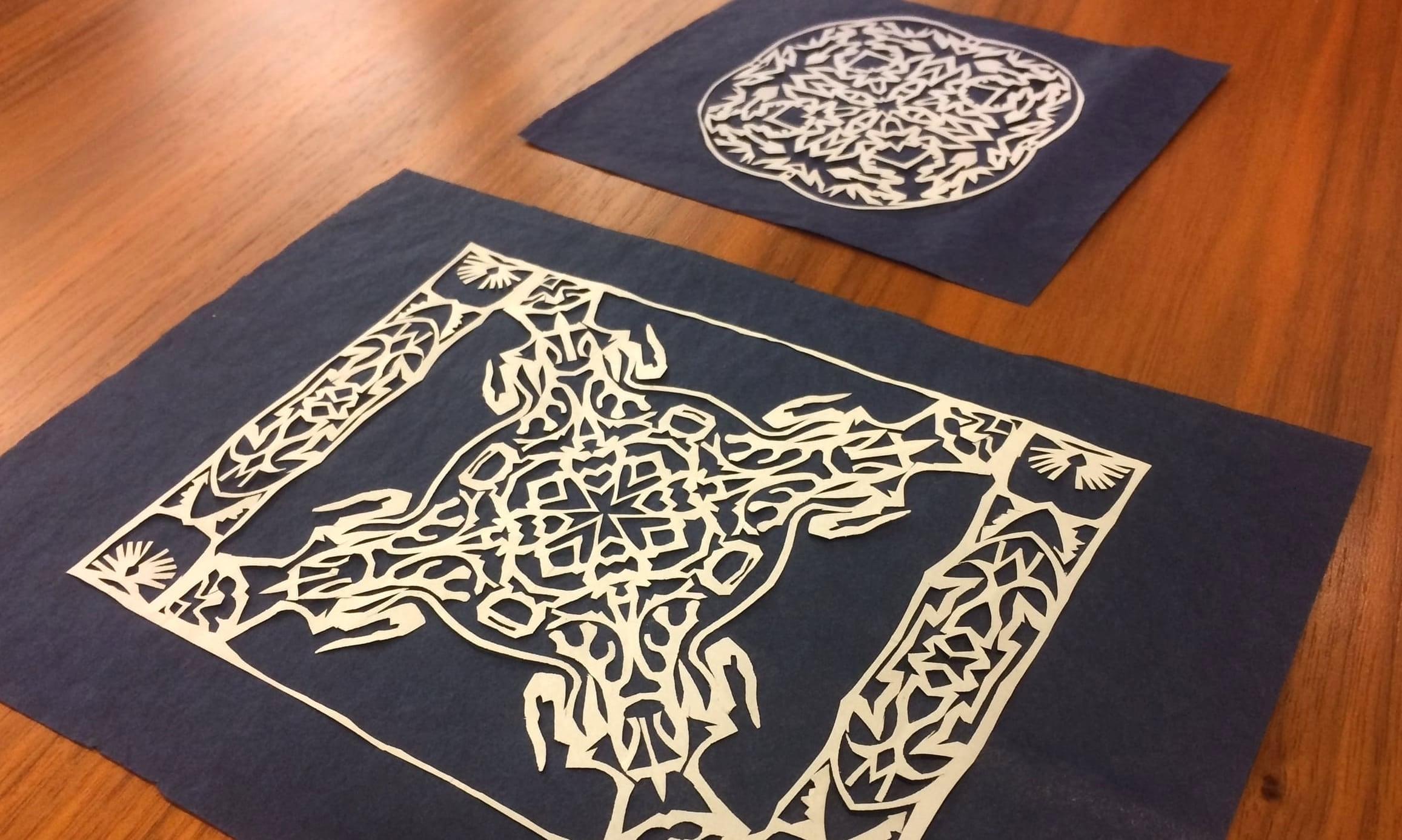 The paper cuttings