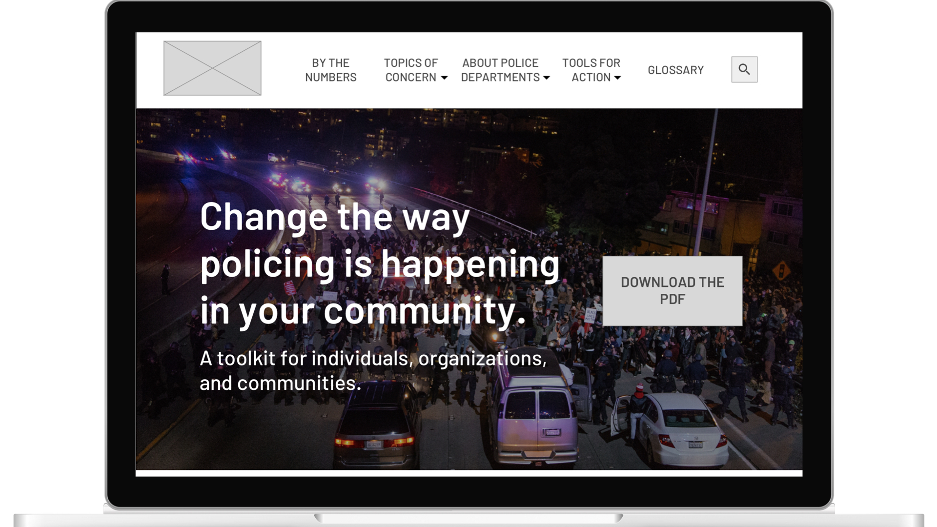 Policing Campaign - Engaging activists effecting policing reform